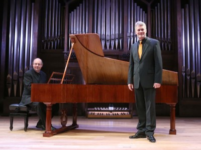 Arthur Schoonderwoerd y Hans Jörg Mammel. Concierto Una cima temprana - Historia del Lied en siete conciertos
