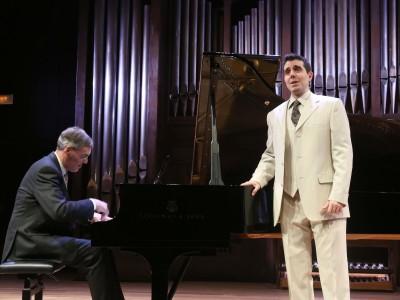 Roger Vignoles y Joan Martín-Royo. Concierto Origen y esplendor - Historia del Lied en siete conciertos