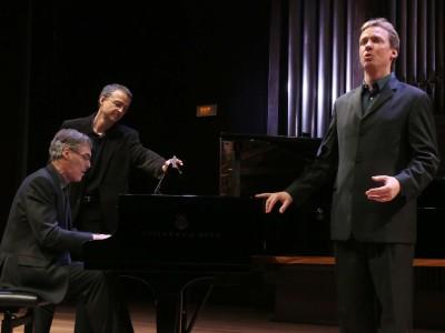 Roger Vignoles, Stephan Loges y Luis Gago. Concierto La Edad Media romántica - Historia del Lied en siete conciertos