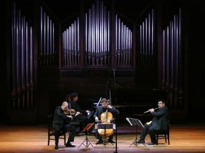 Trío Arbós y Álvaro Octavio Díaz. Concierto Sinfonías nº 1 y nº 2 - Las sinfonías de Beethoven en arreglos de cámara