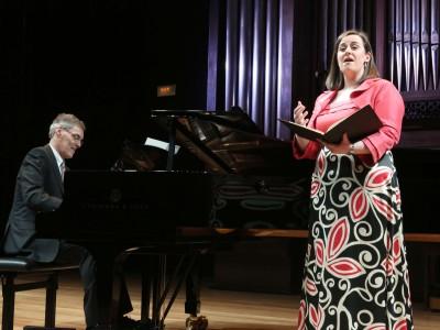 Marta Mathéu y Roger Vignoles. Concierto Mörikeana, o la obsesión poética - Historia del Lied en siete conciertos