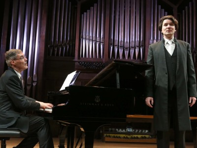 Roger Vignoles y Günter Haumer. Concierto Mörikeana, o la obsesión poética - Historia del Lied en siete conciertos