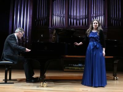 Elizabeth Watts y Roger Vignoles. Concierto Amor y humor - Historia del Lied en siete conciertos