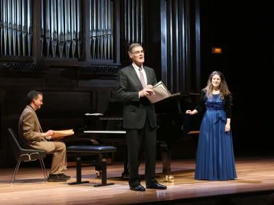 Luis Gago, Roger Vignoles y Elizabeth Watts. Concierto Amor y humor - Historia del Lied en siete conciertos