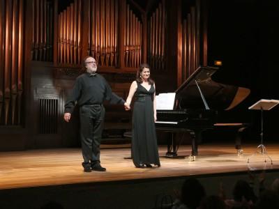 Elena Gragera y Antón Cardó. Concierto Nuevos lenguajes - Historia del Lied en siete conciertos