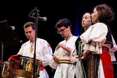 Conjunto de música tradicional transilvana. Concierto Transilvania vocal - Popular y culta: la huella del folclore