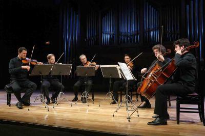 Cuarteto de Leipzig, Cristina Pozas y Miguel Jiménez. Concierto Sinfonía nº 6 - Las sinfonías de Beethoven en arreglos de cámara
