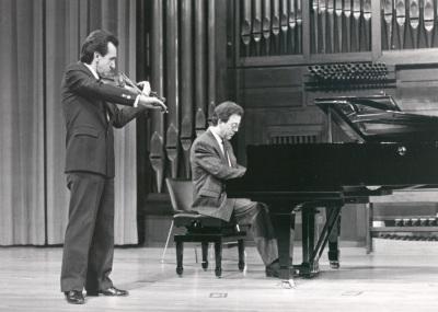Emmanuel Ferrer-Laloe y Manuel Villuendas. Concierto El dúo violín-piano en el siglo XIX