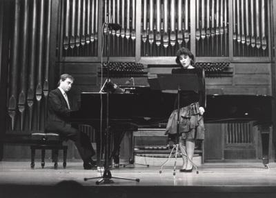 Fernando Turina y María Aragón. Concierto El recuerdo de la infancia