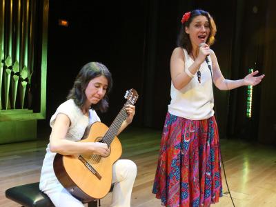 Cristina Azuma y Ana Guanabara. Concierto Brasil: choros y otros cantos - Popular y culta: la huella del folclore