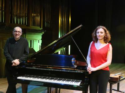 Alicia Lucena y Kennedy Moretti. Concierto Brasil: choros y otros cantos - Popular y culta: la huella del folclore