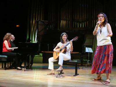 Kennedy Moretti, Alicia Lucena, Cristina Azuma y Ana Guanabara. Concierto Brasil: choros y otros cantos - Popular y culta: la huella del folclore