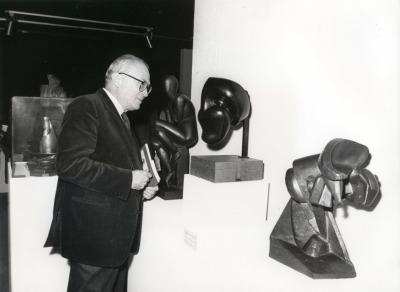 Fernando Zóbel. Exposición Medio siglo de escultura: 1900-1945