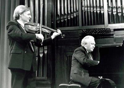 Emilio Mateu y Miguel Zanetti. Concierto Música para la viola