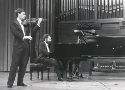 Juan Llinares y Josep Colom. Concierto César Franck