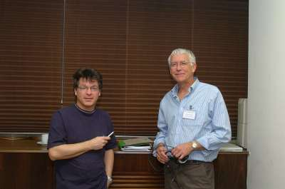 Wolf Reik y Peter A. Jones. Conferencia Epigenetics and Chromatin: Transcriptional Regulation and Beyond