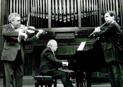 Víctor Martín, Miguel Zanetti y Antonio Arias Gago Gago. Concierto Homenaje a Antonio Arias Gago-Gago Mariño - [Concierto especial 29]