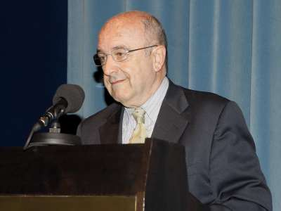 Joaquín Almunia. Despedida de Jose Mª Maravall