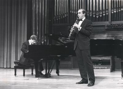 Aníbal Bañados y Enrique Pérez Piquer. Recital de clarinete y piano