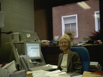 Martha Peach. Directora de la Biblioteca. 1988-2008