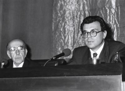 Ildefonso Manuel Gil y Federico Ibáñez Martín. Encuentro con José Hierro