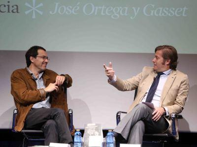 Jordi Gracia y Javier Gomá Lanzón. Presentación del libro Españoles Eminentes. José Ortega y Gasset de Jordi Gracia