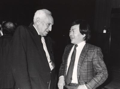 Severo Ochoa y Susumu Tonegawa, en el ciclo La nueva inmunología