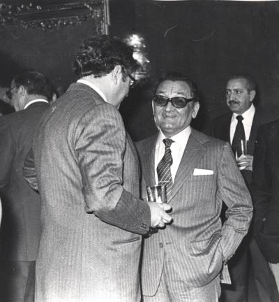 Alejandro Bérgamo Llabrés (Secretario, hasta 1970). Comida-Homenaje de ABC a la Fundación Juan March