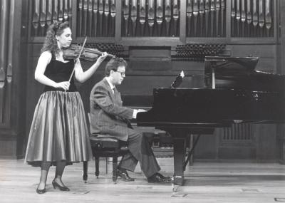 Anabel García del Castillo y Agustín Serrano. Recital de violín y piano