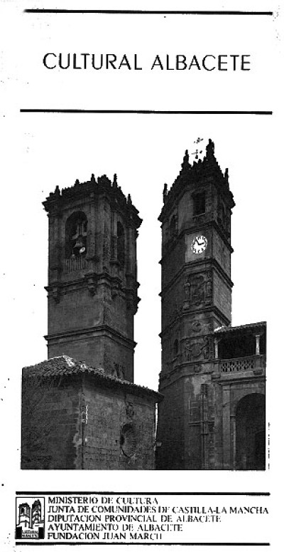 Cartel del programa Cultural Albacete