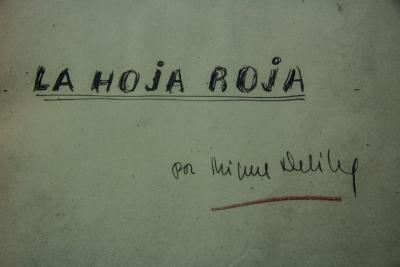Portada de La hoja roja : novela, de Miguel Delibes