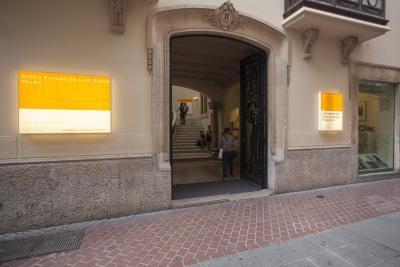 Entrada Museu Fundación Juan March (Palma)