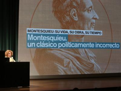 Carmen Iglesias. Montesquieu. Un clásico políticamente incorrecto
