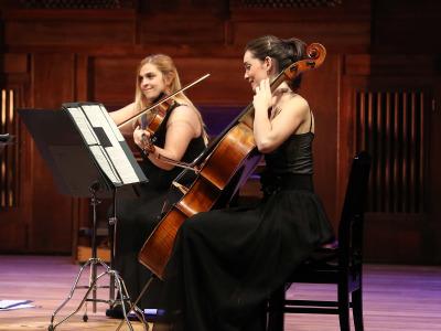 Elisabeth Plaza y Maialen Eguiazabal. Conciertos Domingos y Mediodías