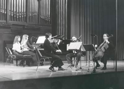 Cuarteto Arcana y Menchu Mendizábal. Concierto Estreno de Cuarteto con piano de José Luis Turina - [Concierto especial 33]