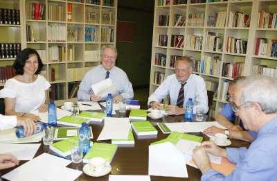 Reunión del Consejo académico de CEACS