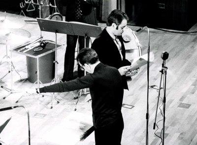 José María Franco Gil y Tomás Marco en el ciclo de Música española contemporánea