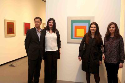 José Enrique Moreno, Maite Álvaro, Laura Martínez de Guereñu y María Toledo