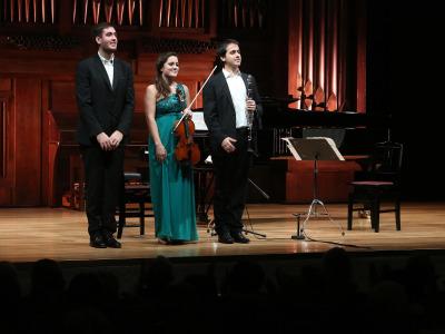 Trio Arniches. Recital de música de cámara