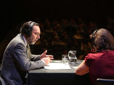 Carlos Cruz de Castro y Laura Prieto. Entrevistas de RNE