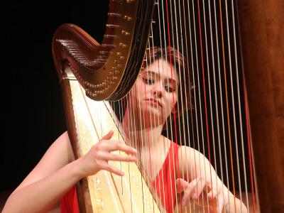Anna Quiroga. Recital de arpa