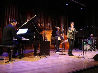 Grupo Paloma Berganza. El jazz de Boris Vian. El compositor: la chanson