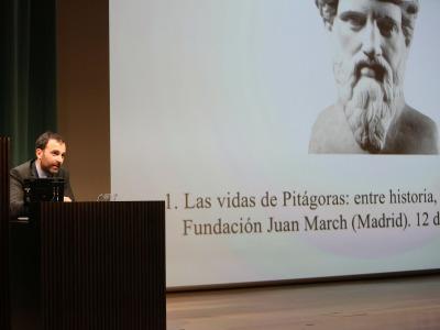 David Hernández de la Fuente. Las vidas de Pitágoras: entre historia, filosofía y leyenda - Pitágoras: su vida, su obra, su tiempo