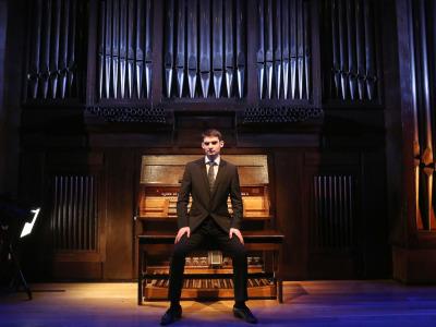 Aarón Ribas Zorrilla. Recital de órgano
