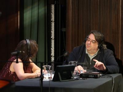 Laura Prieto y Jesús Ruiz Mantilla. Entrevistas de RNE