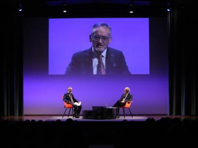 José María Merino en diálogo con José Enrique Martínez