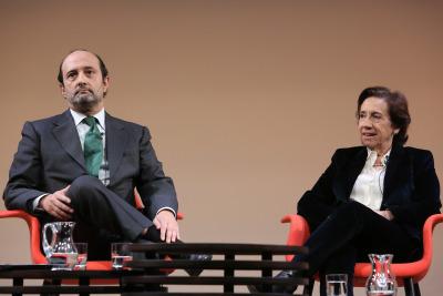 Jose Luis Álvarez y Victoria Prego. Liderazgo político de la democracia española
