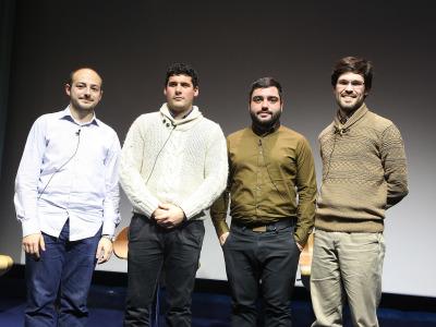 Manuel López Jorge, Josep Planells, Mikel Chamizo y Diego Ramos. Compositores Sub-35 (IV) - Aula de (Re)estrenos (95)