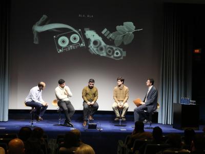 Manuel López Jorge, Josep Planells, Mikel Chamizo, Diego Ramos y Miguel Angel Marín. Compositores Sub-35 (IV) - Aula de (Re)estrenos (95)