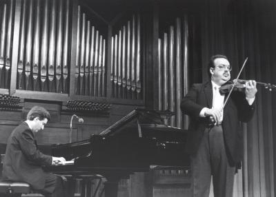 Gerardo López Laguna y Ángel Jesús García. Concierto Música para una exposición: Monet